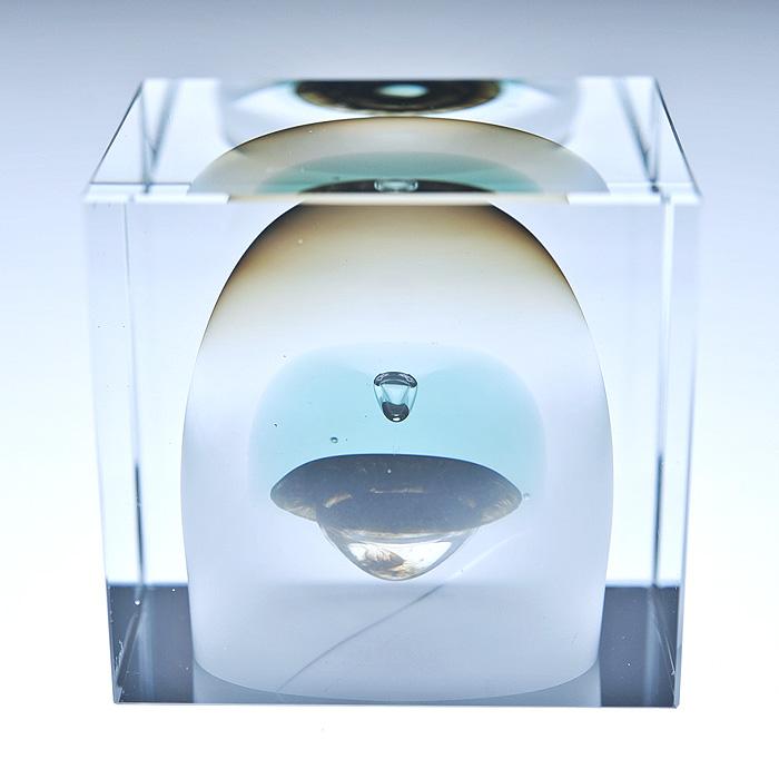 Nuutajarvi ヌータヤルヴィ イッタラ iittala Oiva Toikka オイバ・トイッカ Annual Cube アニュアル キューブ (箱入り) ビンテージ vintage ヴィンテージ 1983年