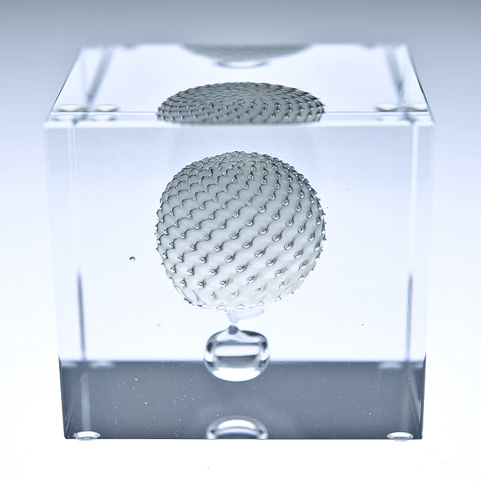 Nuutajarvi ヌータヤルヴィ イッタラ iittala Oiva Toikka オイバ・トイッカ Annual Cube アニュアル キューブ (箱入り) ビンテージ vintage ヴィンテージ 2009年