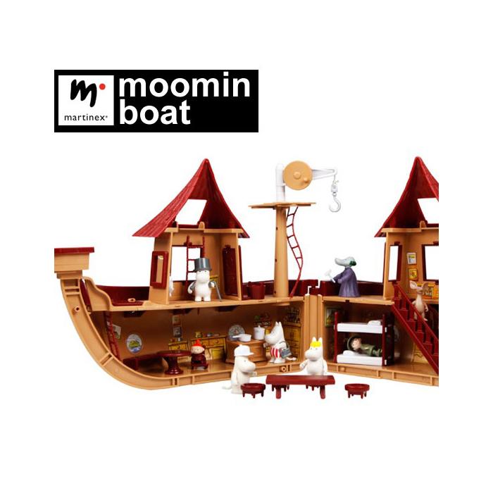Martinex マルチネックス ムーミンボート 35505000<並行輸入品> 【 Martinex 北欧 オブジェ マルティネックス おもちゃ 人形 フィギュア 】