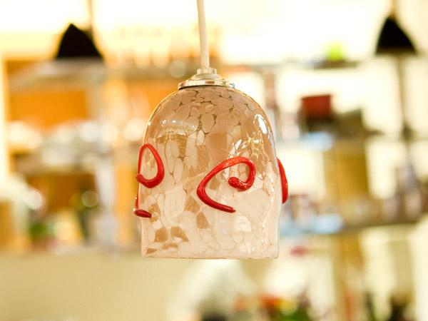 ベネチアンガラス ペンダントライト ( ソケット日本仕様 ) ( F499 )【イタリア直輸入 手作り一点もの】