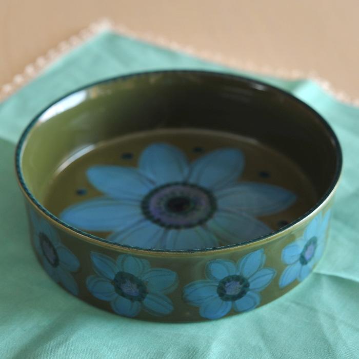 アラビア arabia HLA お花柄のボウル 19cm ビンテージ vintage ヴィンテージ