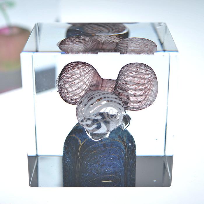 Nuutajarvi ヌータヤルヴィ イッタラ iittala Oiva Toikka オイバ・トイッカ Annual Cube アニュアル キューブ ビンテージ vintage ヴィンテージ 1984年