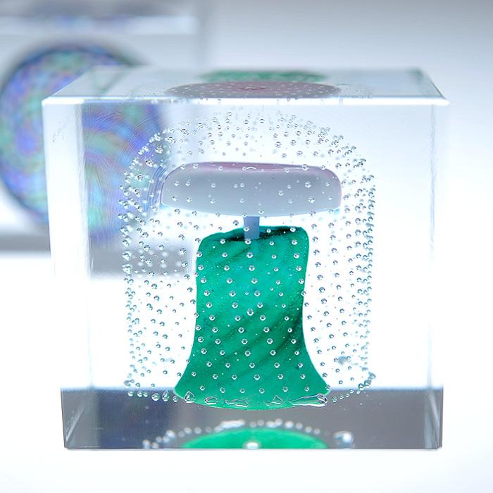 Nuutajarvi ヌータヤルヴィ イッタラ iittala Oiva Toikka オイバ・トイッカ Annual Cube アニュアル キューブ ビンテージ vintage ヴィンテージ 1995年