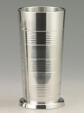 【送料無料】 大阪錫器 タンブラー ビールコップ ( 大 ) [ 桐箱入り ] 320mL