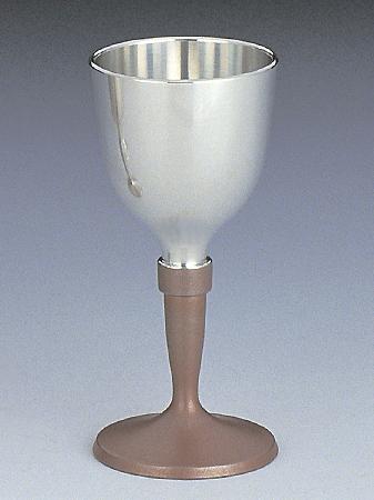 【4/16 1:59までP5倍】[ 送料無料 ] 大阪錫器 ワインカップ 朱 [ 桐箱入り ] 85mL