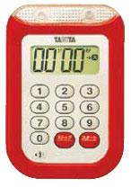 大音量タイマー100分計 TD-377 希少 レッド 捧呈