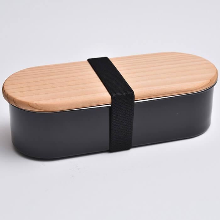 木蓋付きフードボックス