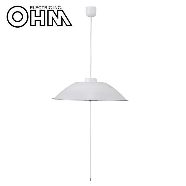 オーム電機 OHM LED洋風ペンダントライト 8畳用 LT-Y48D8G
