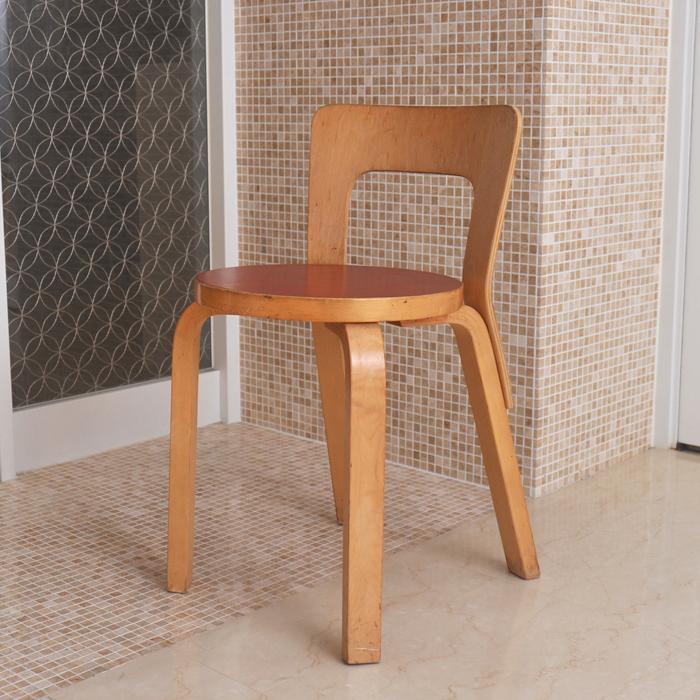 【8/5限定エントリーでP14倍!】\SALE特価!/[ 北欧 アンティーク ] アルテック チェア 65 レッド ビンテージ vintage ヴィンテージ artek イス 椅子