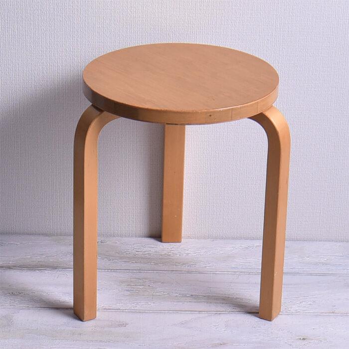 【北欧 アンティーク】アルテック artek スツール 60 stool vintage ヴィンテージ イス 椅子【海外直輸入USED】