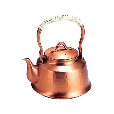 工房アイザワ (aizawa ) 純銅茶器 純銅鎚目文 湯沸まつかさ 0.8L (71-B)