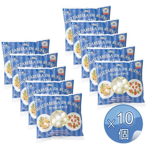 モンテベッロ 冷凍モッツァレッラ・ブファラ・チェリーサイズ 500g <10袋セット> 【冷凍便でお届け】