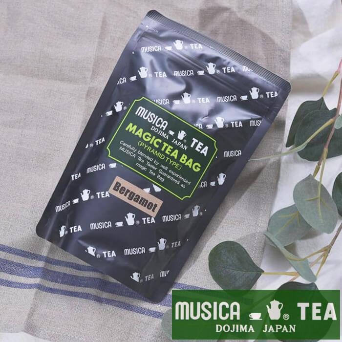 【マラソン期間中!全品ポイント10倍!】MUSICA TEA ムジカティー MAGIC TEA BAG マジックティーバッグ BERGAMOT 【ムジカ紅茶 紅茶 堂島】 <20個入り>【キャンセル 返品 交換不可】