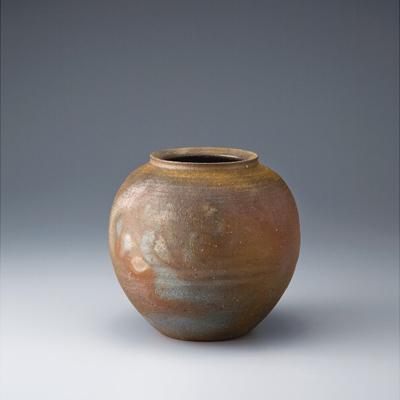 備前焼 時空窯 手ヅクリ登リ窯 壷(SHJ18‐200)【日本製】