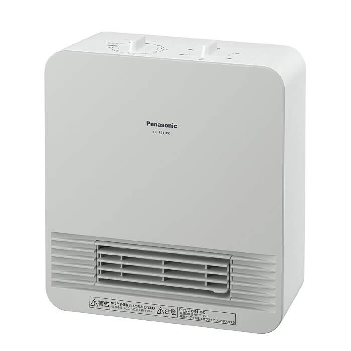 パナソニック Panasonic セラミックヒーター ホワイト DS-FS1200-W