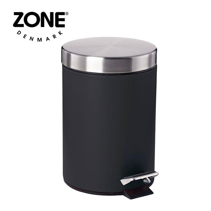 ZONE SOFTペダルビン 861412 ブラック 【 ゾーン デンマーク 北欧デザイン ダストボックス ゴミ箱 】