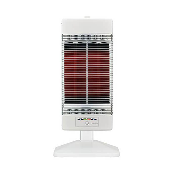 コロナ 遠赤外線ヒーター シーズヒーター コアヒート (ホワイト) CH-129R-W 暖房