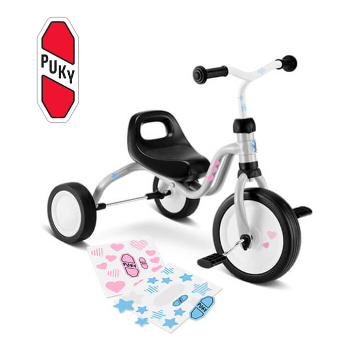 Puky Fitsch フィッチ 三輪車 ライトグレー 2514 ドイツ 子供用 おもちゃ 乗り物