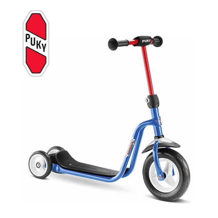 Puky R 1 チルドレン三輪スクータ ブルー 5176 ドイツ 子供用 おもちゃ 乗り物