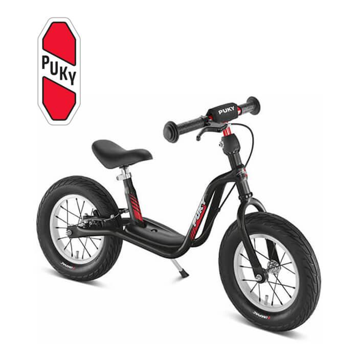 Puky LR XL ブレーキ付き ラーニングバイク エアータイヤ ブラック 4078 ドイツ 子供用 おもちゃ 乗り物