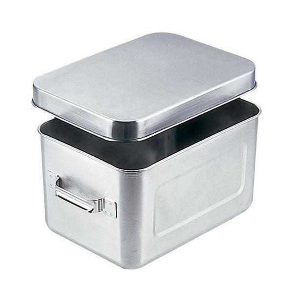 18-8 保温・保冷バット マイルドボックス サラダ用 7L (蓋付) 004(4)<7L>
