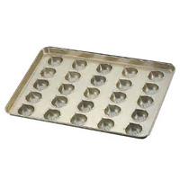 シリコン加工 マロンケーキ型 天板(25ヶ取)<25ヶ取>