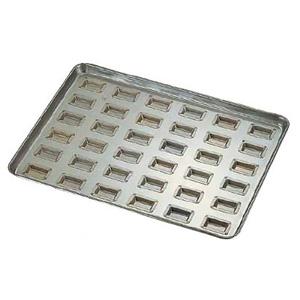 シリコン加工 センチュリー型 天板 小 (36ヶ取)<36ヶ取>