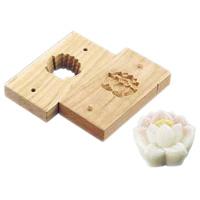 手彫物相型 (上生菓子用)蓮花 <蓮花>