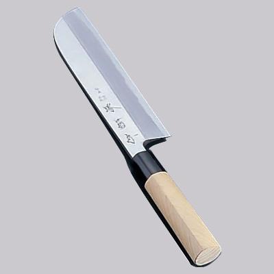 堺 菊守 極上 鎌型薄刃(片刃) 18cm<18cm>