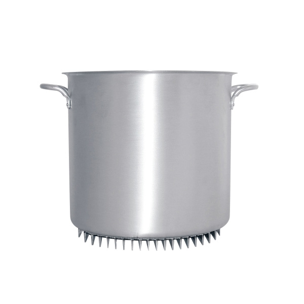 アルミ エコライン寸胴鍋(蓋無) 36cm 【受注生産品の為 約1か月かかります】