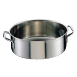 シットラム イノックス 18-10 平鍋 三重底 (蓋無) 40R 40cm(40R)<40cm>