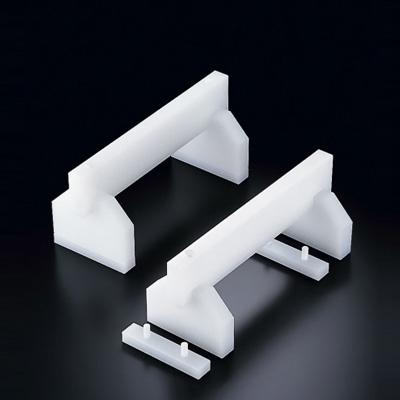 プラスチック高さ調整付まな板用脚 50cm H200mm (50cm) <H200mm>