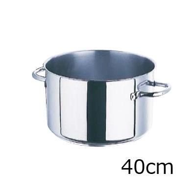 モービル プロイノックス半寸胴鍋 (蓋無) 5935.40 40cm