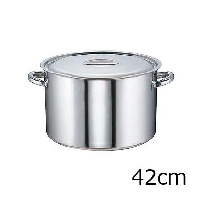 SA モリブデン 半寸胴鍋 (目盛付) 42cm