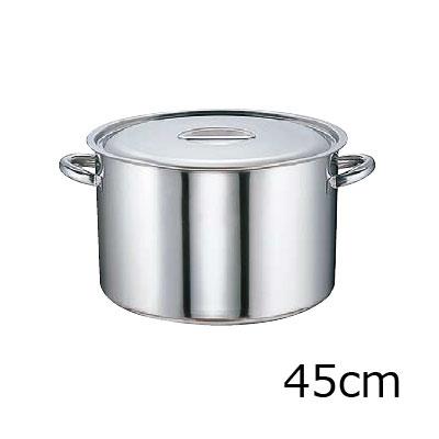 SA モリブデン 半寸胴鍋 (目盛付) 45cm