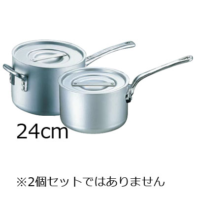 エレテック 片手鍋 24cm