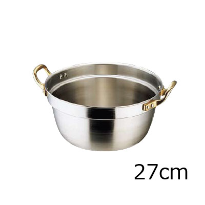エコクリーン スーパーデンジ 円付鍋 27cm