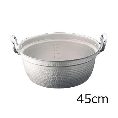 エコクリーン マイスターアルミ極厚円付鍋 45cm