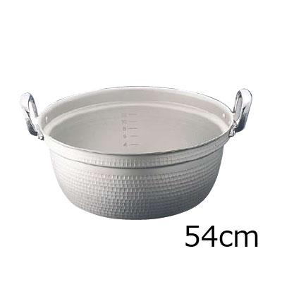 マイスター アルミ極厚円付鍋 (目盛付)54cm