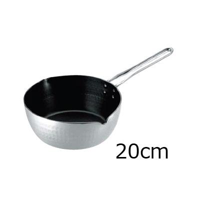 TKG 共柄厚板 アルミテフロン雪平鍋 20cm