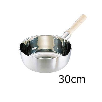 SAスーパーデンジ 雪平鍋 (クラッド鋼) 30cm