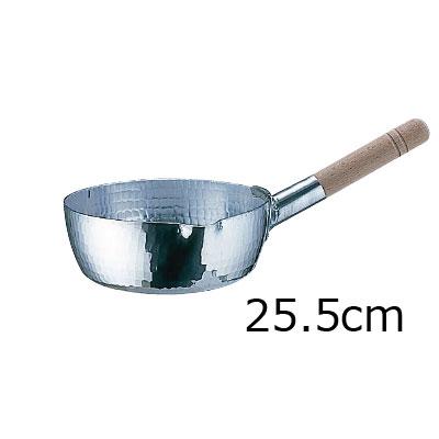 アルミ 本職用 手打雪平鍋 (3mm厚) 25.5cm
