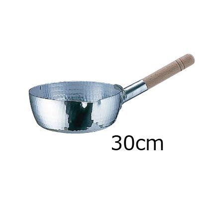 アルミ 本職用 手打雪平鍋 (3mm厚) 30cm