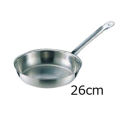 シットラム イノックス 18-10 フライパン三重底 26F 26cm【 アドキッチン 】