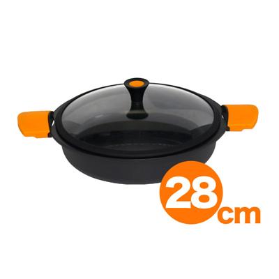 キャスティ キャセロール浅型 57502 28cm (57502)<28cm>