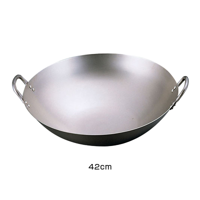 SA 純チタン 中華鍋 42cm <42cm>
