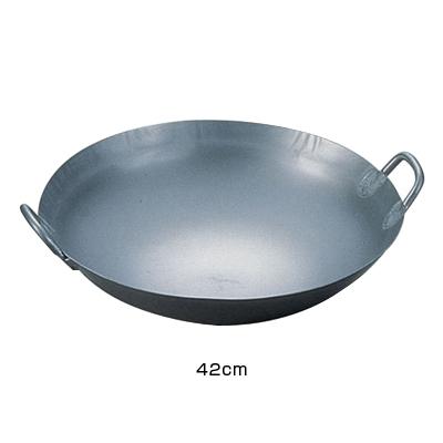 チターナ 中華鍋(チタン製)42cm <42cm>