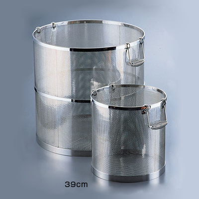 UK 18-8 パンチング丸型スープ取りざる 39cm用 <39cm用>