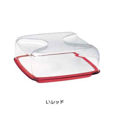 グッチーニ チーズボード L (カバー付) 2700.0065 <レッド>【 アドキッチン 】