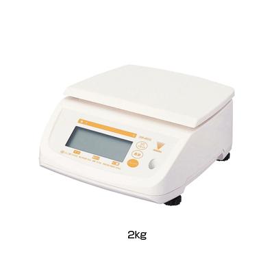寺岡 防水型デジタル上皿はかり テンポ (DS-500N) 2kg <2kg>【 アドキッチン 】